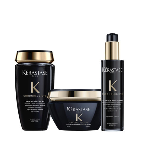 Kerastase Chronologiste Champu 250ml Mascarilla 200ml Crema De Protecciòn 150ml
