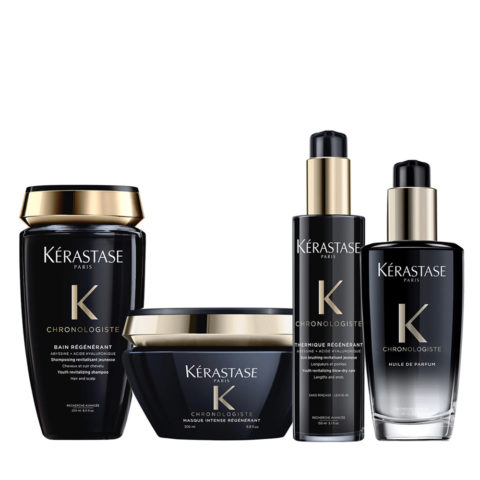 Kerastase Chronologiste Champu 250ml Mascarilla 200ml Crema 150ml Aceite 100ml