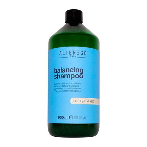 Alterego Pure Balancing Champú reequilibrante cuero cabelludo graso 950ml