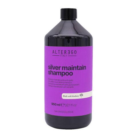 Alterego Silver Maintain Champú Anti-amarillo 950ml
