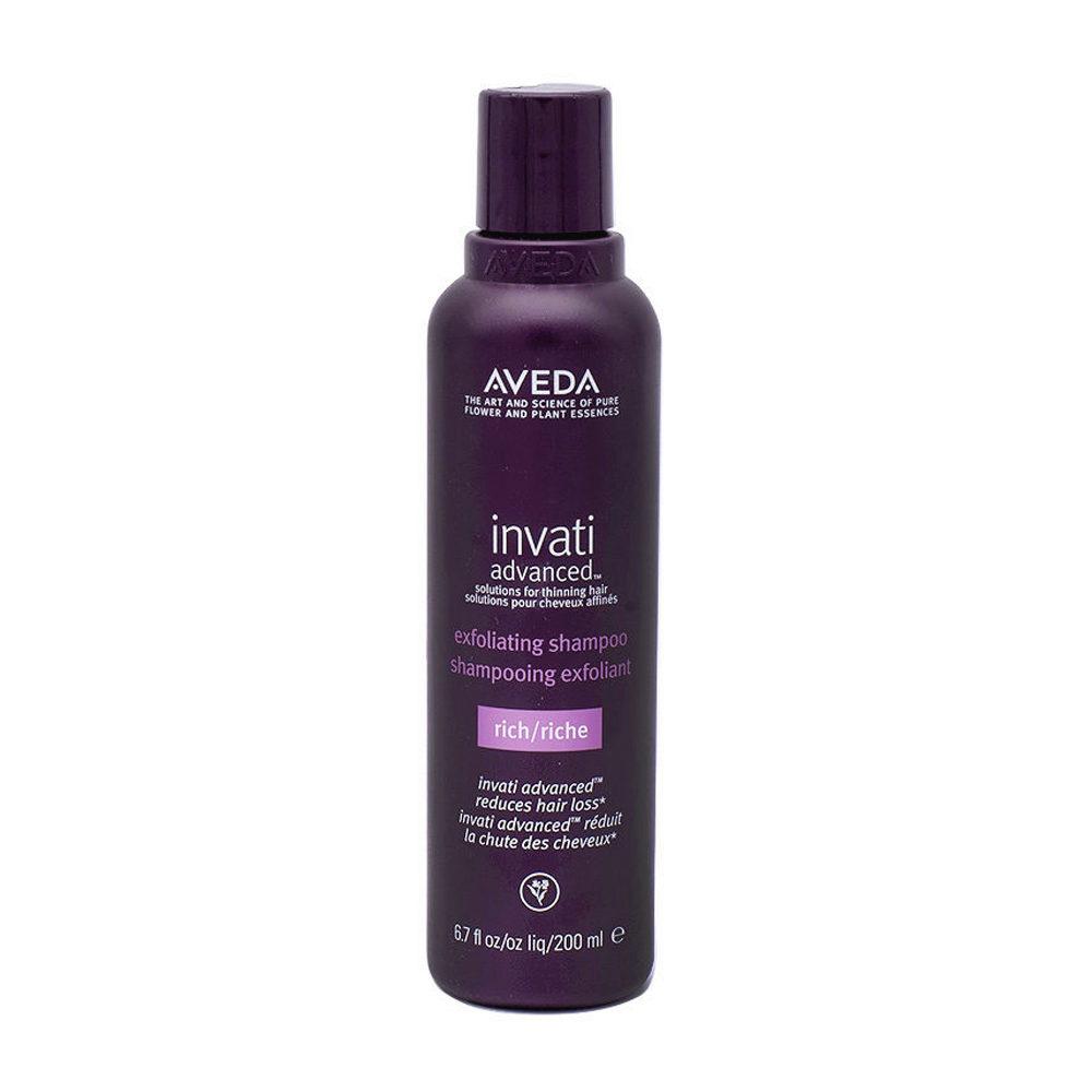 Aveda Invati Advanced  Shampoo Exfoliante  Para Cabello Medio Grueso 200ml