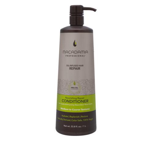 Macadamia Nourishing Repair Acondicionador para cabello seco y dañado 1000ml