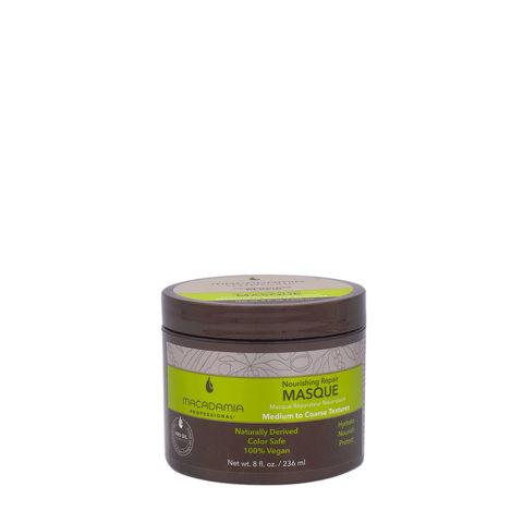 Macadamia Nourishing Repair Masque 236ml - Mascarilla hidratante nutritiva para cabello medio a grueso