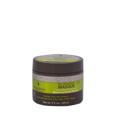 Macadamia Nourishing Repair Masque 60ml - Mascarilla hidratante nutritiva para cabello medio a grueso