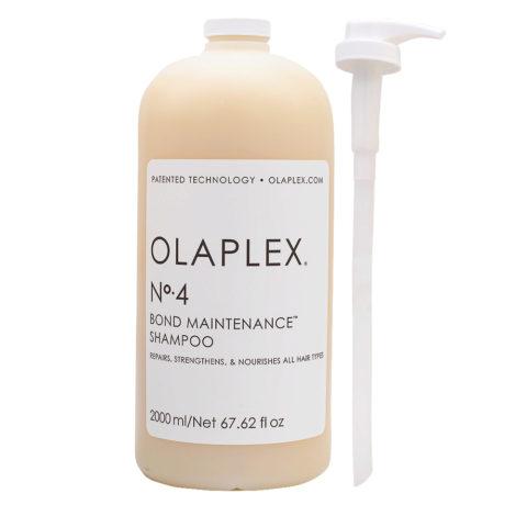 Olaplex Bond Maintenance Shampoo N.4 2000ml - Champú Reestructurante