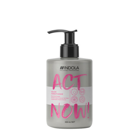 Indola Act Now! Acondicionador de Color Cabello Teñido 300ml