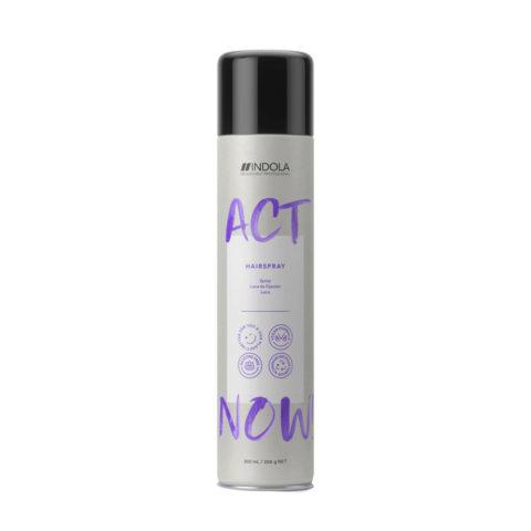 Indola Act Now! Laca Hairspray Fijación Media 300ml