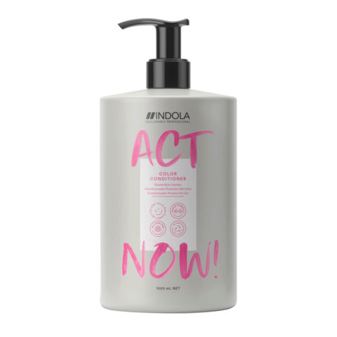 Indola Act Now! Acondicionador de Color Cabello Teñido 1000ml