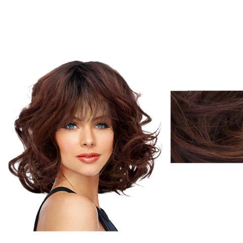 Hairdo On The Edge Peluca marrón caoba