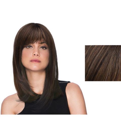 Hairdo Peluca de pelo castaño medio y largo subido