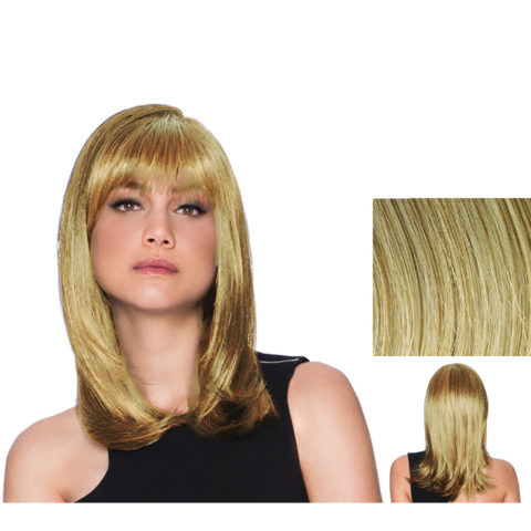Hairdo Peluca larga rubia clara con raíz marrón