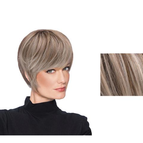 Hairdo Wispy Cut Peluca de corte corto rubio ceniza claro con raíz marrón