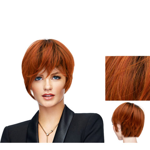 Hairdo Angled Cut fuego rojo