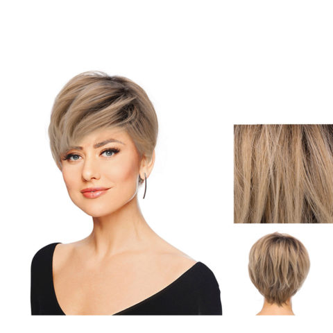 Hairdo Perfect Pixie Rubio claro con raíz marrón