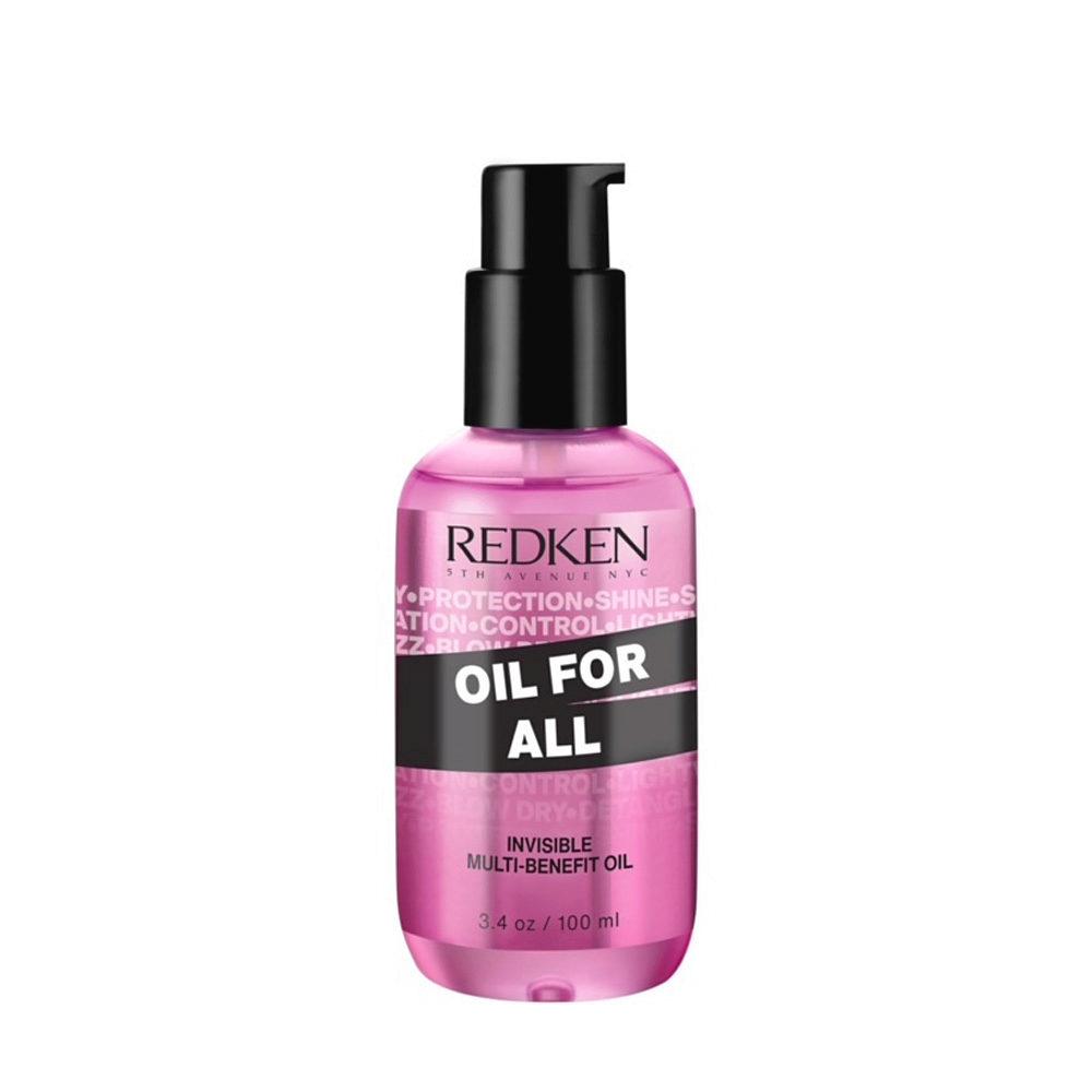 Redken Oil For All Aceite Multi-Beneficioso para Todo Tipo de Cabello 100ml