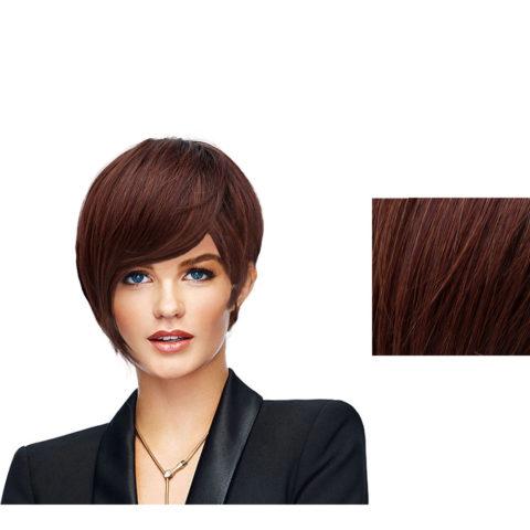 Hairdo Angled Cut peluca Caoba