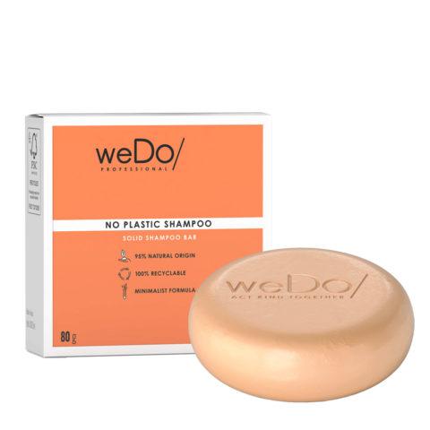 weDo No Plastic Champú sólido para cabello normal o dañado 80gr