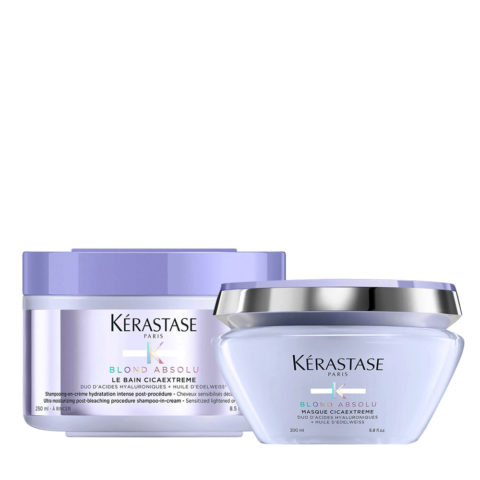 Kerastase Blond Absolu Cicaextreme Champù 250ml y Mascarilla 200ml