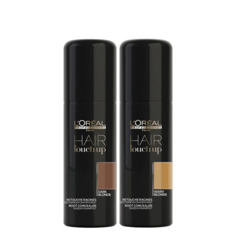 L'Oreal Set Hair Touch Up Dark blonde 75ml and Warm Blonde 75ml