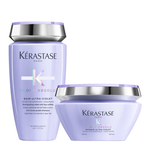 Kerastase Blond absolu Kit Champú Anti Amarillo 250ml Mascara 200ml