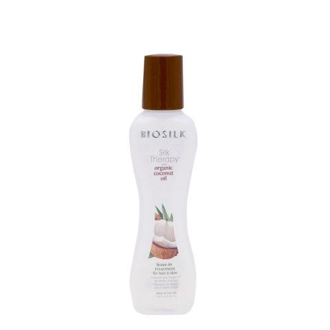 Biosilk Silk Therapy Coconut Oil Leave In Suero sin aclarado para cuerpo y cabello 67ml
