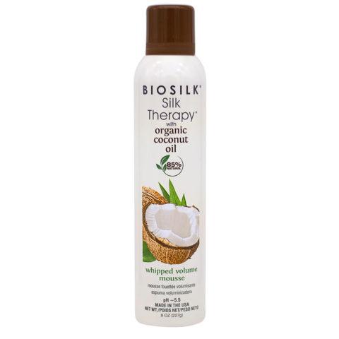 Biosilk Silk Therapy With Coconut Oil Espuma Hidratante Voluminizadora 227gr