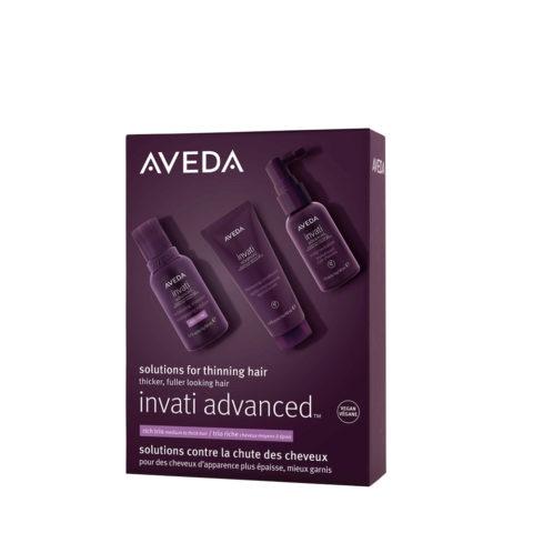 Aveda Invati Advanced Rich Set para cabello débil que cae