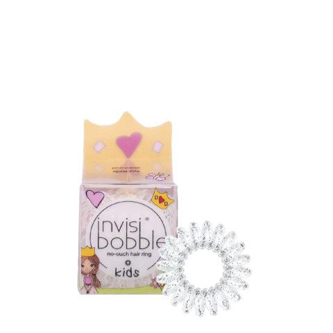 Invisibobble Kids Elástico de pelo de bebé transparente con purpurina