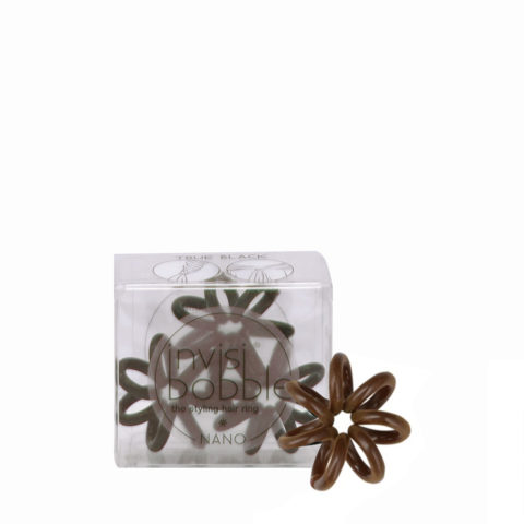 Invisibobble Nano mini lazo para el pelo marrón
