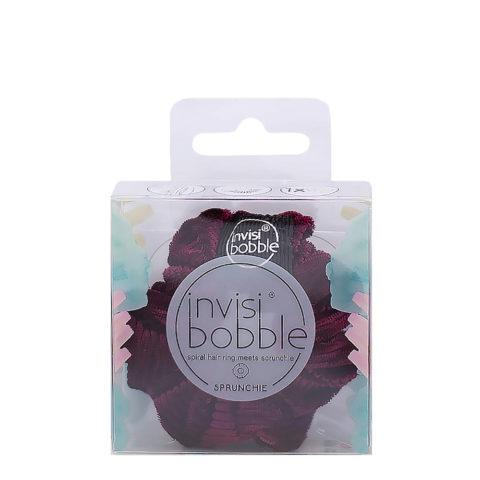 Invisibobble Sprunchie Elastico de pelo vintage de terciopelo rosa