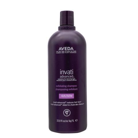 Aveda Invati Advanced  Shampoo Exfoliante  Para Cabello Medio Grueso 1000ml