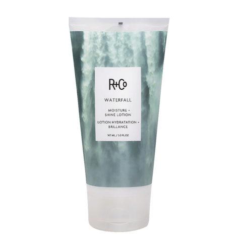 R   Co Waterfall Moisture   Shine Lotion Crema Hidratante Ligera 147ml