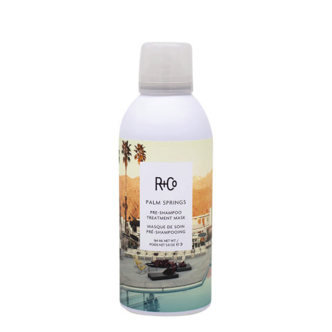 R   Co Palm Spring Pre Shampoo Tratamiento Mascarilla para Cabello Dañado 164ml