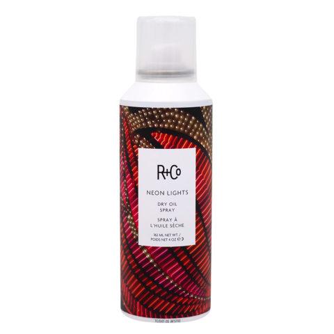 R   Co Neon Lights Dry Oil Spray Aceite Spray Seco Iluminante 162ml