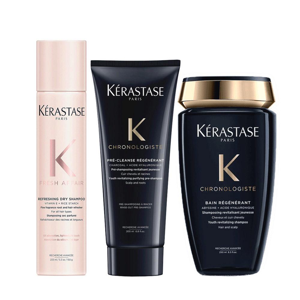 Kerastase Fresh Affair + Chronologiste Set de regeneración capilar