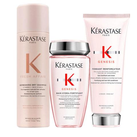 Kerastase Fresh Affair + Genesis Set Anticaída Temporal y Fortificante