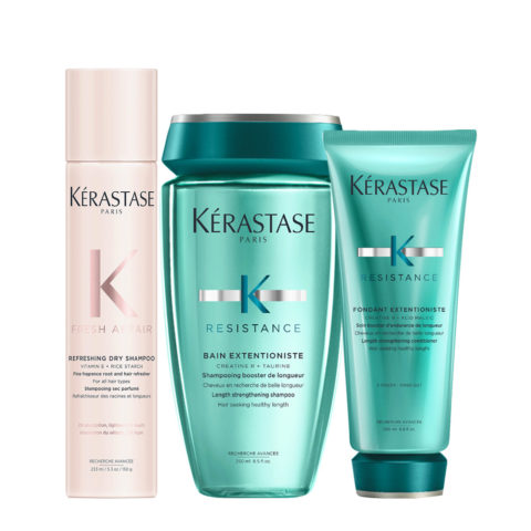 Kerastase Fresh Affair + Extentioniste Set para cabello largo y sensibilizado