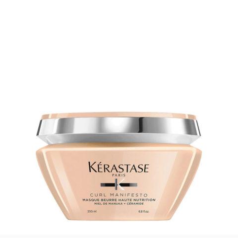 Kerastase Curl Manifesto Masque Beurre Nourrissant 200ml - mascarilla nutritiva para cabello rizado