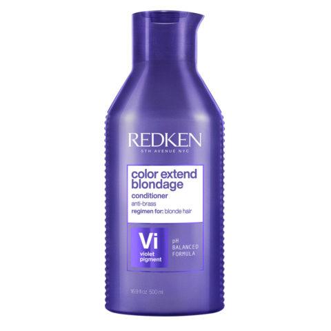 Redken Color Extend Blondage Formato especial 500ml - Acondicionador Anti - Amarillento