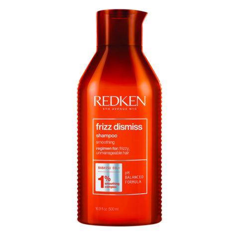 Redken Frizz Dismiss Shampoo Special Size 500ml - champú para cabello encrespado
