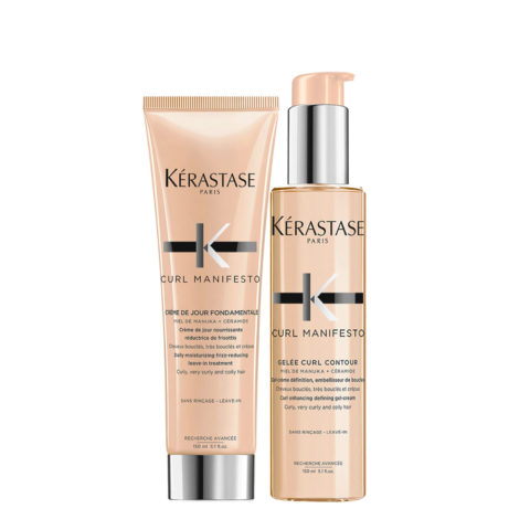 Kerastase Curl Manifesto Kit Crème de Jour 150ml  Gelée Curl Revelation 150ml
