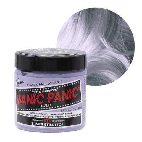 Manic Panic Classic High Voltage Silver Stiletto  118ml - Crema colorante semipermanente