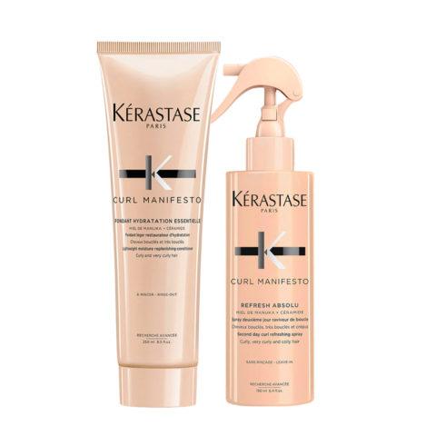 Kerastase Curl Manifesto Kit Curly Hair Spray 190ml Acondicionador 250ml