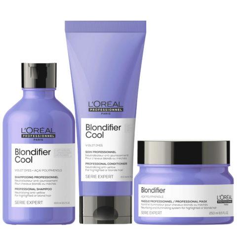 L'Oréal Professionnel Paris Serie Expert  kit Rubias Naturales Shampoo 300ml Conditioner 200ml Mascarilla  250ml