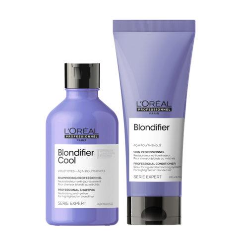 L'Oréal Professionnel Paris Serie Expert  Kit Rubias Naturales Shampoo 300ml, Conditioner 200ml