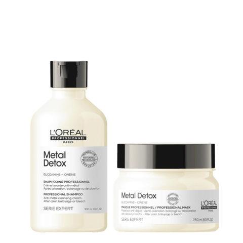 L'Oréal Professionnel Paris Serie Expert Metal Detox Kit Shampoo 300ml Mascarilla 250ml