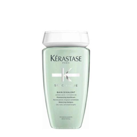 Kérastase Spécifique Bain Divalent Shampoo 250ml - para cuero cabelludo graso