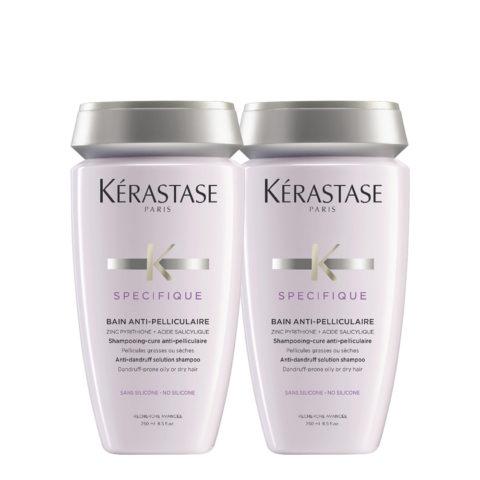 Kerastase Specifique Bain Anti-pelliculaire 250ml Pack X2