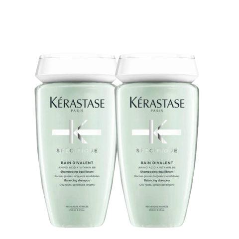 Kerastase Specifique Bain Divalent 250ml Pack X2