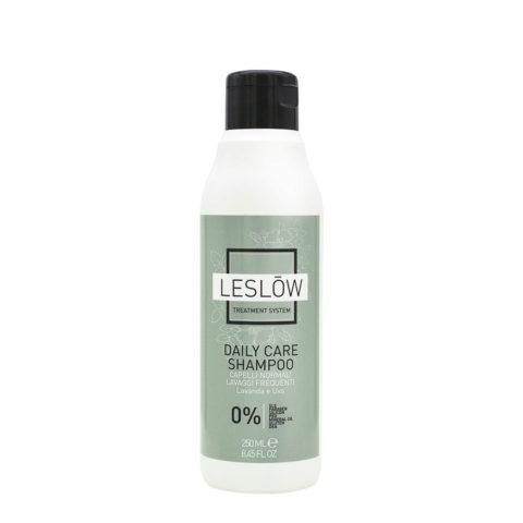 Leslōw Daily Care Shampoo 250ml - cabello normal, lavado frecuente